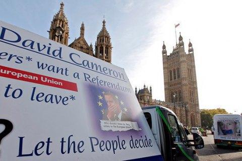 Втрати Британії через вихід з ЄС оцінили в 100 млрд фунтів