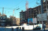 В Днепропетровске упал кран, четыре человека погибли (обновлено)