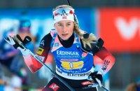 Тіріль Екгофф встановила для біатлоністок рекорд чемпіонатів світу