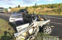 На трасі біля Квасилова розбився легковий автомобіль, у загиблого водія знайшли наркотики