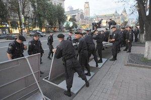 Милиция оцепила бютовцев под Печерским судом