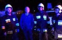 Польський політик врятував дворічну дитину з палаючої машини