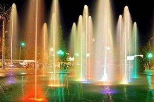 В Виннице открылся самый большой фонтан в Европе