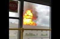 В Москве произошел крупный пожар на одной из ТЭЦ (обновлено)