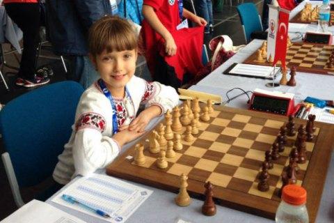 8-летняя украинка стала чемпионкой Европы по шахматам
