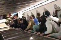 Четверо украинцев пострадали из-за обрушения эскалатора в метро Рима