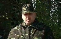 Турчинов на сході провів огляд нової військової техніки