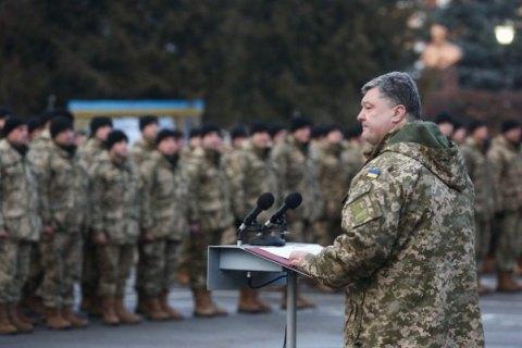 Порошенко заявил о готовности объявить очередную волну мобилизации