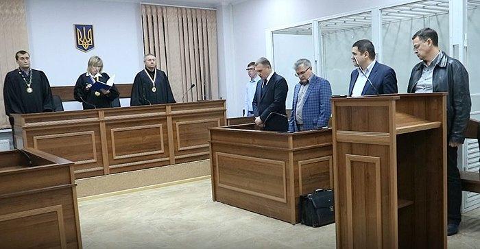 Засідання суду, 31 жовтня 2018.