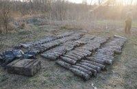 На покинутому кемпінгу в Луганській області виявили склад боєприпасів