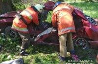 На півночі Житомирської області в ДТП загинули чотири людини