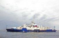 Російський військовий корабель підходив на 19 км до Маріуполя (оновлено)