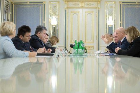 Порошенко закликав Раду Європи допомогти зі звільненням політв'язнів у РФ