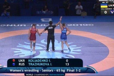 На чемпионате мира по борьбе Украина завоевала третью медаль