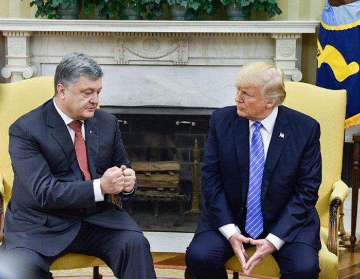 Зустріч президента України Петра Порошенка та президента Сша Дональда Трампа