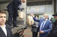Израиль передал двум городам Украины гуманитарную помощь в связи с коронавирусом