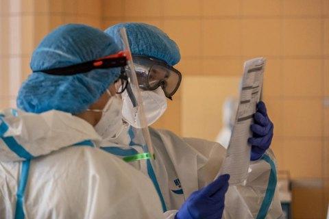 В Украине за сутки умерли 125 пациентов с ковидом, новых заражений - 7 тысяч