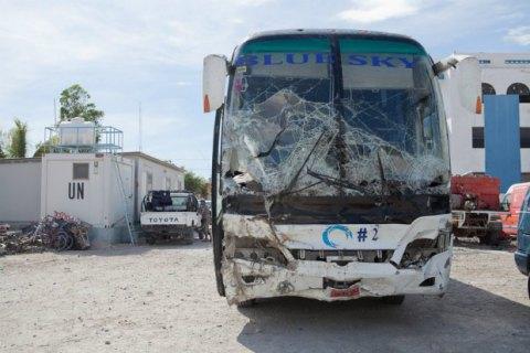 На Гаити автобус насмерть сбил 38 человек