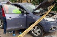 На Закарпатье обстреляли автомобиль полицейского начальника (обновлено)