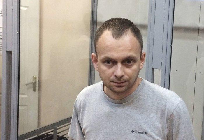 Дмитро Сус в суді, липень 2017.