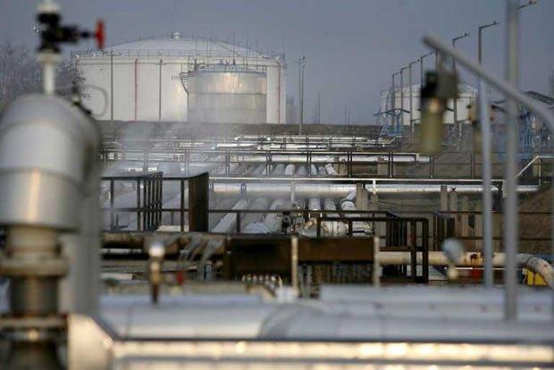 Тот самый нефтепровод, вид из Венгрии