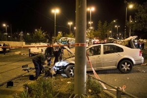 В Иерусалиме полиция застрелила предполагаемого автотеррориста