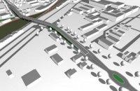 В Вишневом построят автомобильный мост над железной дорогой