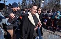 Савченко задержали в кулуарах Рады