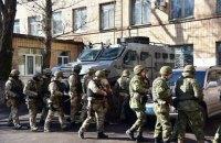 В Авдеевку прибыл спецотряд полиции КОРД