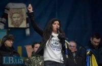 Руслана обвинила в разгоне Евромайдана Путина