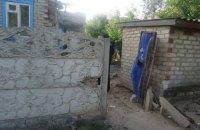 Боевики обстреляли дома в Торецке