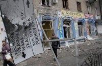 """Лікарню в Донецьку обстріляли з """"Ураганів"""" з південного заходу, - ОБСЄ"""