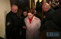 Суд арестовал подозреваемую в убийстве Шеремета Юлию Кузьменко