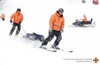 На Львівщині травмувалися чотири лижники