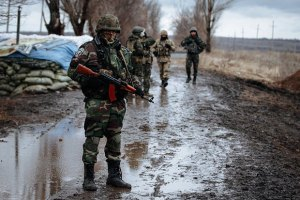 Боевики 69 раз обстреляли позиции сил АТО, - пресс-центр