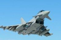 Британские истребители во второй раз за неделю пререхватили российский военный самолет над Черным морем