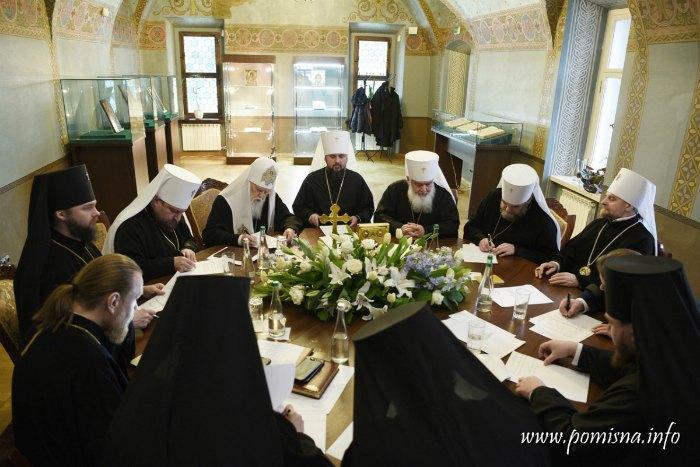 Заседание Синода ПЦУ