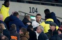 """Игрок """"Тоттенхэма"""" подрался на трибуне с собственным фаном после вылета """"шпор"""" из Кубка Англии"""