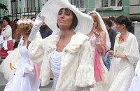 Парад невест прошел в Тернополе