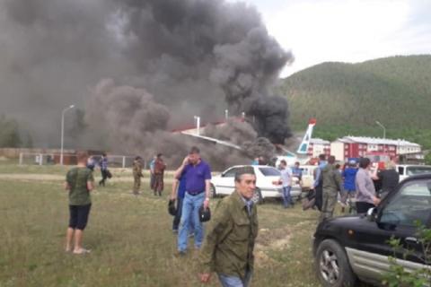 У Бурятії зазнав аварії пасажирський літак Ан-24, є загиблі і поранені