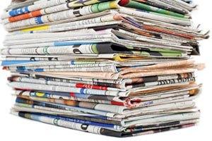 Прибутки газет від реклами впали до рівня 1950 року