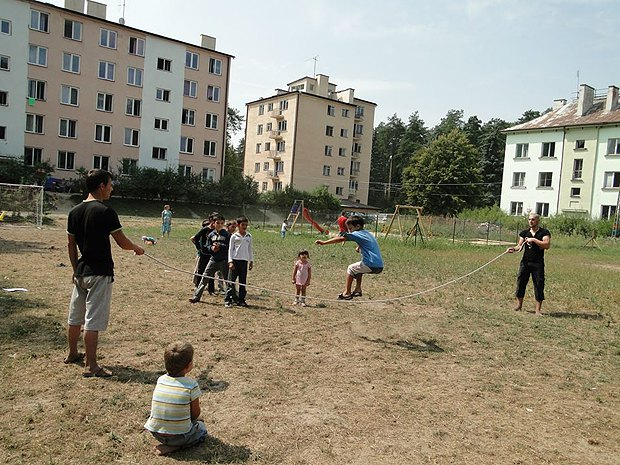 Лагерь для беженцев в Безволе