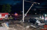 Помер ще один постраждалий у автокатастрофі у Дніпрі (оновлено)