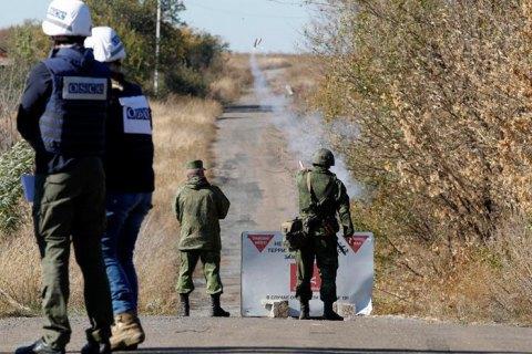 Миссия ОБСЕ зафиксировала в Луганской области вооружение оккупантов за линиями отвода