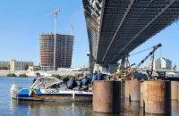Поліція залучила водолазів для перевірки обсягу і якості робіт на Подільському мосту