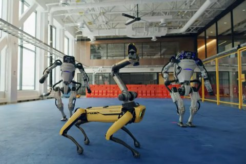 "​Роботи Boston Dynamics станцювали під хіт 60-х ""Do You Love Me"""