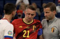В матче Евро-2020 футболист получил двойной перелом глазницы