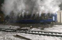 На Полтавщине во время пожара в железнодорожном вагоне погибли два человека