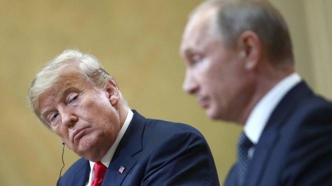 Прес-конференція Путіна та Трампа після двох годин перемовин без «зайвих очей»