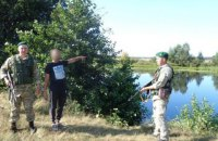 Пограничники задержали трех кубинцев, которые нелегально попали в Украину через реку в Сумской области